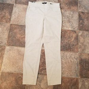 NWT Nine West Heidi Pull On Skinny Crop Size 4